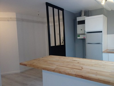 APPARTEMENT T3 A LOUER - ST ETIENNE FAURIEL - 46,02 m2 - 485 € charges comprises par mois