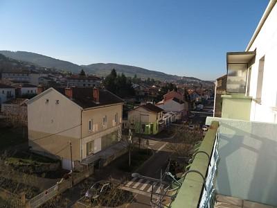 APPARTEMENT T3 A VENDRE - LA RICAMARIE - 56,6 m2 - 43000 €