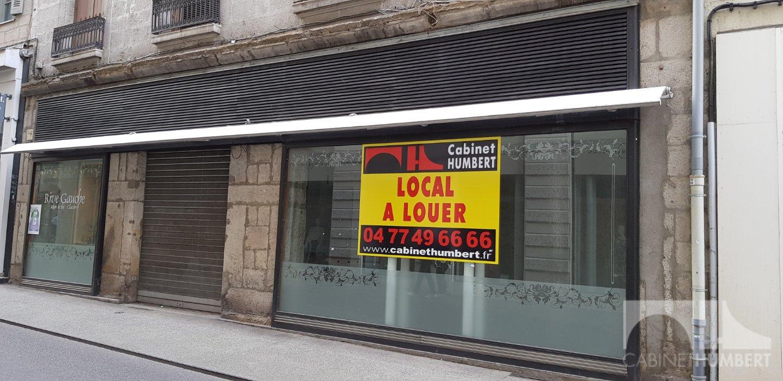 LOCAL COMMERCIAL A LOUER - ST ETIENNE CENTRE VILLE - 110,04 m2 - 1500 € HC par mois